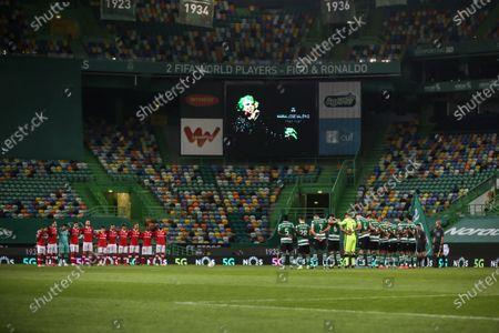 Editorial photo of Sporting v Santa Clara, Liga NOS, Lisbon, Portugal - 05 Mar 2021