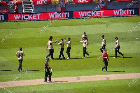 Editorial picture of NZ Black Caps v Australia, International T20 Cricket, Wellington, New Zealand - 07 Mar 2021