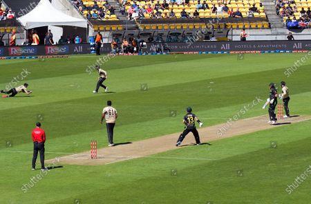 Editorial photo of NZ Black Caps v Australia, International T20 Cricket, Wellington, New Zealand - 07 Mar 2021