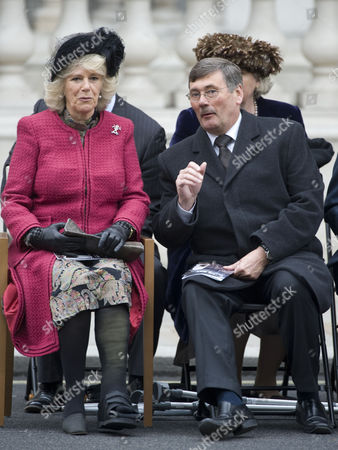 Camilla, Duchess of Cornwall and Secretary for Defence, Bob Ainsworth