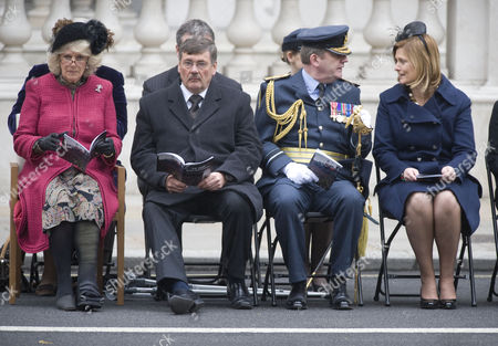 Camilla, Duchess of Cornwall, Secretary for Defence, Bob Ainsworth and Sarah Brown