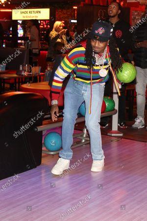 Editorial image of QC Bowling Night, Atlanta, Georgia, USA - 06 Mar 2021