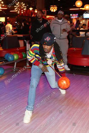 Editorial picture of QC Bowling Night, Atlanta, Georgia, USA - 06 Mar 2021