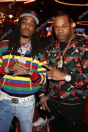 Stock Picture of Quavo and Busta Rhymes