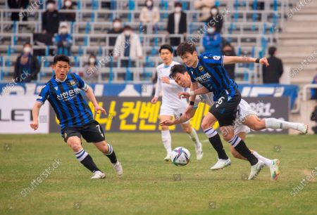 Editorial picture of South Korea's 2021 K League 1 : Incheon United FC 2-1 Daegu FC in Incheon, Incheon, South Korea - 06 Mar 2021