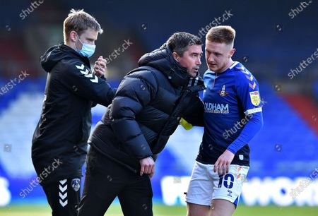 Editorial picture of Oldham Athletic v Southend United - Sky Bet League Two, United Kingdom - 06 Mar 2021