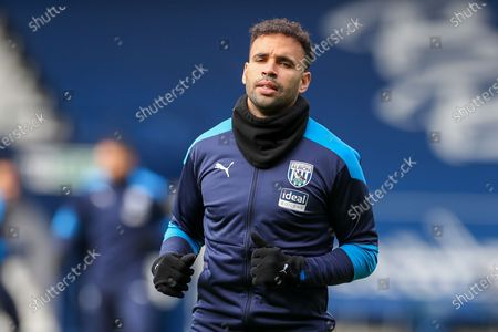 West Bromwich Albion  forward Hal Robson-Kanu (4) during the Premier League match between West Bromwich Albion and Newcastle United at The Hawthorns, West Bromwich
