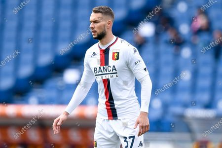 Marko Pjaca of Genoa CFC during the Serie A match between AS Roma and Genoa CFC at Stadio Olimpico, Rome, Italy on 7 March 2021.