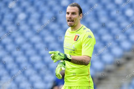 Federico Marchetti of Genoa CFC during the Serie A match between AS Roma and Genoa CFC at Stadio Olimpico, Rome, Italy on 7 March 2021.