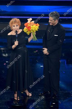 Ornella Vanoni and Fiorello