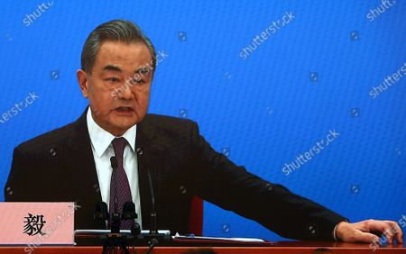 Editorial photo of Wang Yi News Conference in Beijing, China - 07 Mar 2021