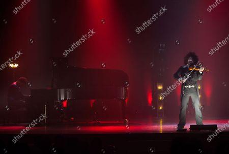 Editorial picture of Ara Malikian in concert, Malaga, Spain - 07 Mar 2021