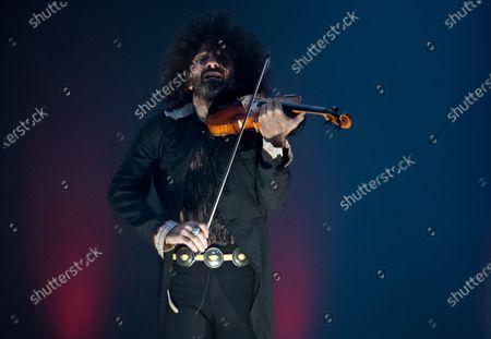 Editorial photo of Ara Malikian in concert, Malaga, Spain - 07 Mar 2021