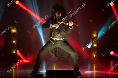 Editorial image of Ara Malikian in concert, Malaga, Spain - 07 Mar 2021