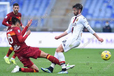 Editorial image of Serie A, AS Roma v Genoa, Rome, Italy - 07 Mar 2021
