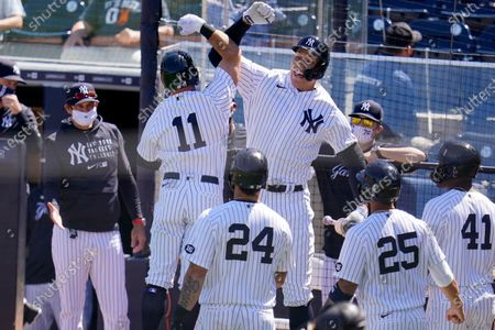 Editorial picture of Phillies Yankees Spring Baseball, Tampa, United States - 07 Mar 2021
