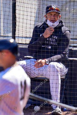 Editorial photo of Phillies Yankees Spring Baseball, Tampa, United States - 07 Mar 2021