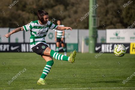 Ana Borges from Sporting during the Women's Liga PBI game between Sporting and Bragaat at Aurélio Pereira stadium