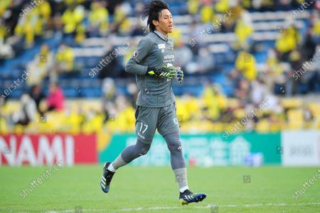 Kim Seung Gyu (Reysol) - Football / Soccer :  2021 J1 League match between Kashiwa Reysol 2-1 Shonan Bellmare  at Sankyo Frontier Kashiwa Stadium, Chiba, Japan.