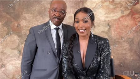 Stock Picture of Courtney B Vance and Angela Bassett