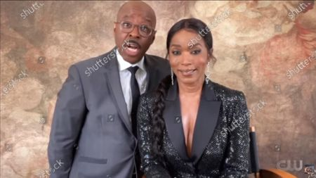 Stock Photo of Courtney B Vance and Angela Bassett
