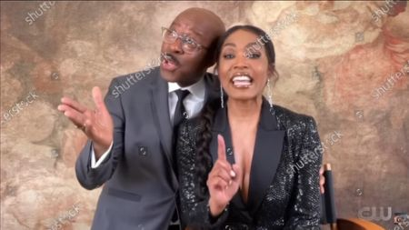 Stock Image of Courtney B Vance and Angela Bassett