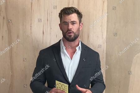Stock Photo of Chris Hemsworth