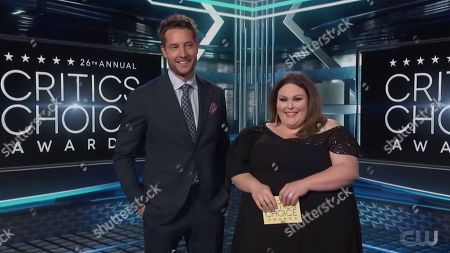 Justin Hartley and Chrissy Metz