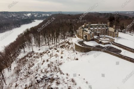 Stock Picture of The Seven Springs, a property owned by former U.S. President Donald Trump, is covered in snow, in Mount Kisco, N.Y. The estate, a 213-acre swath of nature surrounding a Georgian-style mansion, is a subject of two state investigations in New York: a criminal probe by Manhattan District Attorney Cyrus Vance Jr. and a civil inquiry by state Attorney General Letitia James. Both investigations focus on whether Trump manipulated the property's value to reap greater tax benefits from an environmental conservation arrangement he made while running for president in 2016