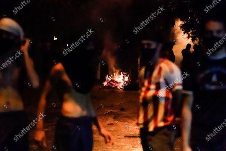 Editorial image of Demonstrators call for President Benitez's resignation, in Asuncion, Paraguay - 07 Mar 2021