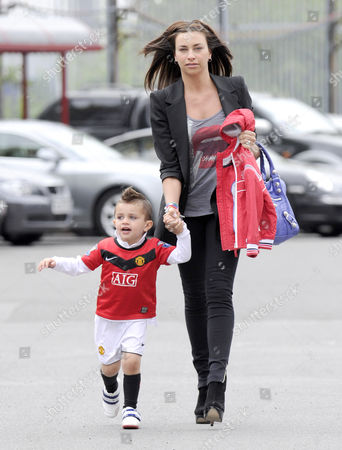 Stacey Giggs and son Zach