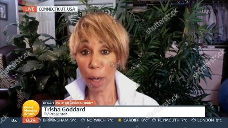 Editorial picture of 'Good Morning Britain' TV Show, London, UK - 08 Mar 2021
