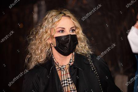 Antonella Clerici attends Che Tempo Che Fa Tv Show on March 07, 2021 in Milan, Italy.