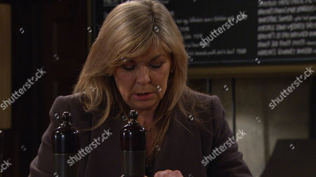 Emmerdale - Ep 8991 Thursday 11th March 2021 - 1st Ep At the pub, aware Dawn has a meeting with the social worker, Kim Tate, as played by Claire King, creates a distraction, allowing her to spike Dawn's drink. Could this could blow her chances of getting Lucas back?