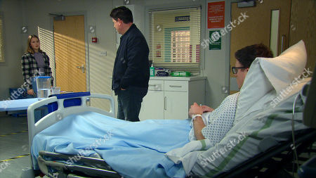 Emmerdale - Ep 9000 Monday 22nd March 2021 At the hospital Vinny Dingle's, as played by Bradley Johnson, on the verge of confessing all to the police when he sees Paul Ashdale, as played by Reece Dinsdale, approaching and clams up leaving the police unable to proceed. When Paul criticises Liv Flaherty, as played by Isobel Steele, for calling the police, she's suspicious. Determined to stick up for Vinny, she insists they do something and questions Paul's inaction. Aware of Paul's rising anger towards her, Vinny tells her to leave, and Paul's pleased to have driven a wedge between them.