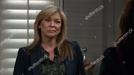 Emmerdale - Ep 9005 & Ep 9006 Friday 26th March 2021 Andrea Tate states that she wants Dale View in the divorce settlement to provide security for her and Millie, but Kim Tate, as played by Claire King, accuses her of being a gold digger and is primed for a fight.