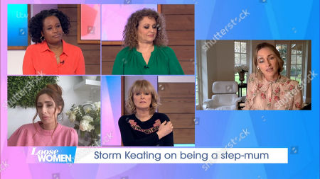 Editorial picture of 'Loose Women' TV Show, London, UK - 08 Mar 2021
