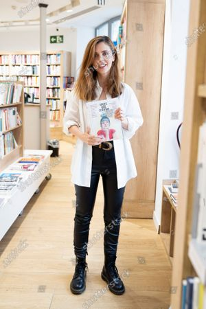 Stock Picture of Actress Leticia Dolera during the presentation of the book 'Voices telling'