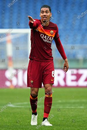 Chris Smalling (Roma) during the match