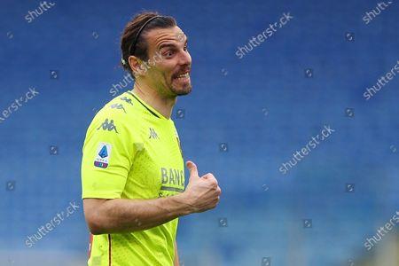 Stock Image of Federico Marchetti (Genoa) during the match