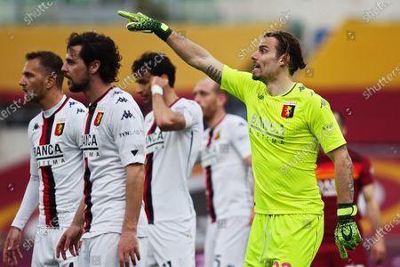 Federico Marchetti (Genoa) during the match