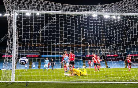 Editorial picture of Manchester City v Southampton, Premier League. Football, Etihad Stadium, Manchester, UK - 10 Mar 2021