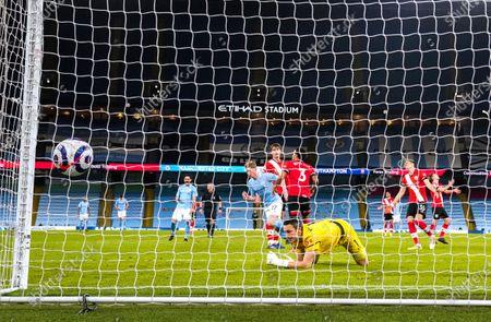 Editorial image of Manchester City v Southampton, Premier League. Football, Etihad Stadium, Manchester, UK - 10 Mar 2021