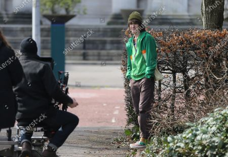Editorial photo of 'Alex Rider' TV show filming, Cardiff, Wales, UK - 08 Mar 2021