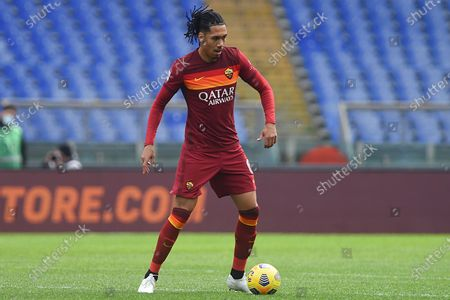 Stock Image of Chris Smalling of AS Roma