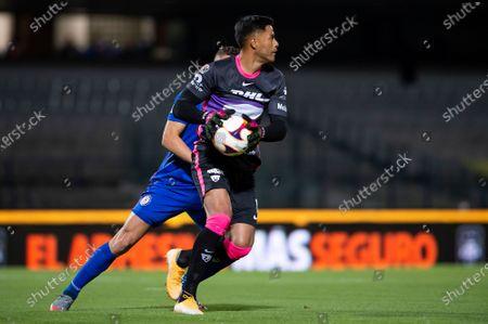 Alfredo Talavera #1 of Pumas UNAM in action