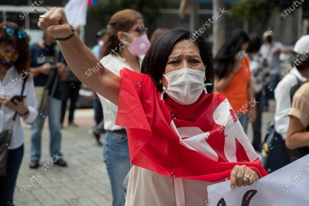 Editorial picture of Mobilization for International Women's Day in Caracas, Venezuela - 08 Mar 2021
