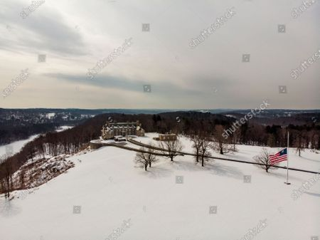 Editorial picture of Trump Legal Troubles Estate, Mount Kisco, United States - 22 Feb 2021