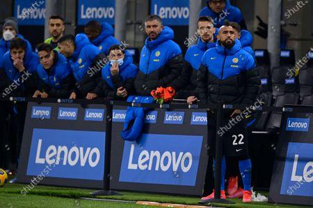 Stock Photo of Arturo Vidal of FC Internazionale