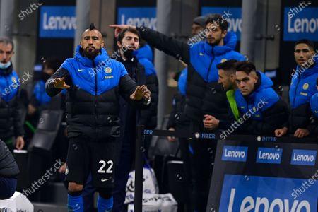 Stock Picture of Arturo Vidal of FC Internazionale